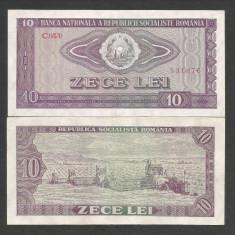 ROMANIA 10 LEI 1966, a UNC [2] P-94, aproape necirculata - Bancnota romaneasca