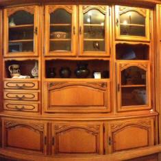 Mobila sufragerie: Biblioteca + comoda TV - Set mobila living