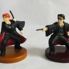 Lot 2 figurine Harry Potter, Warner Bros Entertainment, 4cm, colectie