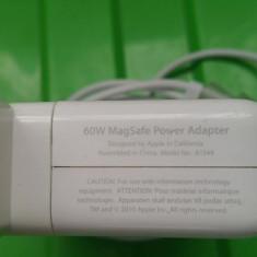 Incarcator Apple MacBook Pro 60W 16.5V 3.65A MagSafe 1 Original A1278 - Incarcator Laptop Apple, Incarcator standard