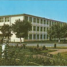 OLT- CORABIA, LICEUL 1967 RSR - Carte Postala Oltenia dupa 1918, Circulata, Printata