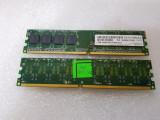 Memorie RAM desktop Apacer 1GB UNB PC2-5300 CL5 DDR 2, 667Mhz  - poza reala