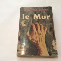 JEAN PAUL SARTRE LE MUR, R15 - Carte Teatru