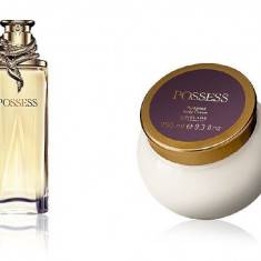 Set Femei Possess - Parfum 50 ml, Crema corp 250 ml - Oriflame - Nou - Set parfum