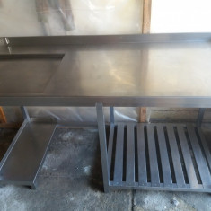 Masă din oțel inox - Mobila pentru restaurant