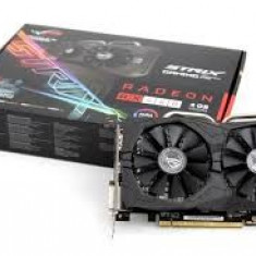 Placa video ASUS STRIX gamming RX460 4 GB DDR5, sigilata, garantie