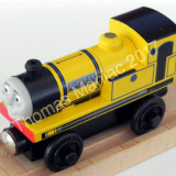 Thomas and Friends ✯ Rare Wooden Railway ✯ YELLOW RHENEAS ✯ Magnet Train ✯ 2003