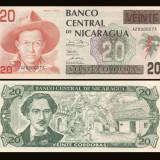 Nicaragua 1991 - 20 cordobas UNC - bancnota america