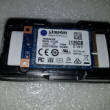 Solid State Drive (SSD) Kingston SSDNow mS200, 120GB, mSATA, SATA III - sigilat, SATA 3