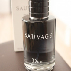 Parfum TESTER original Dior Sauvage 100 ml - Parfum femeie Christian Dior, Apa de toaleta