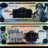 Nicaragua 1990 - 500.000 (20) cordobas aUNC - bancnota america