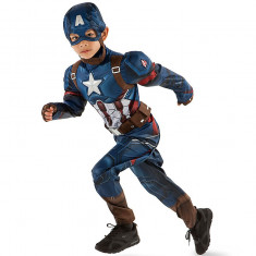 Costum DISNEY Captain America Marvel - Costume Baieti, Copii - 100% AUTENTIC