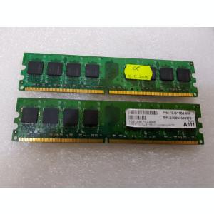 Memorie RAM desktop AM1 (by Apacer) 1GB PC2-5300 DDR2 667MHz - poze reale