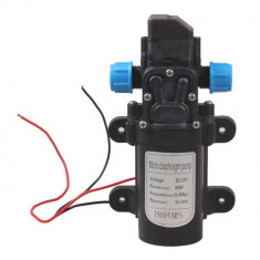 Pompa apa 12V cu presostat litri/min rulote stropit udat spalat auto - Pompa gradina