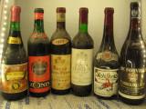 6 sticle vin de colectie lot (31) recoltare  1964/1967/1970/1973/1977/1980, Sec, Rosu, Europa