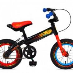 Bicicleta Copii 2-4 Ani Moni Balance 2 In 1 On Fire