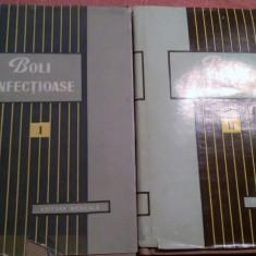 Boli Infectioase . 2 Volume - M.Bals, M.Voiculescu - Carte Boli infectioase