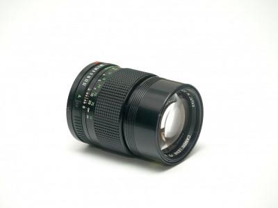 Obiectiv Canon FD 135mm f2.8 foto