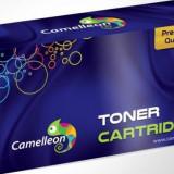 Toner compatibil CAMELLEON HP CF283X Canon CRG-737 Negru - Chip imprimanta