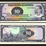 Nicaragua 1979 - 50 cordobas UNC - bancnota america