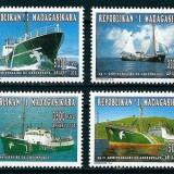 MADAGASCAR 1996 - NAVIGATIE - SERIE DE 4 TIMBRE - NESTAMPILATA - MNH - COTA MICHEL : 10 E / navigatie68