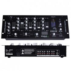 Consola DJ Ibiza MIXER 19 inch 4 CANALE CU USB + REC - Console DJ