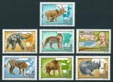 UNGARIA 1981 - FAUNA - SERIE DE 7 TIMBRE - NESTAMPILATA - MNH / fauna82