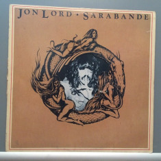 JON LORD (Deep Purple) -SARABANDE (1976/EMI REC/RFG) - Vinil/Vinyl/Analog/VG+ - Muzica Rock emi records