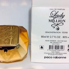 Parfum Tester Lady Milion -80 ML - Parfum femeie Paco Rabanne, Apa de parfum, Floral