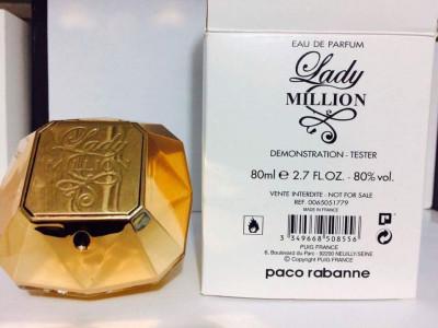 Parfum Tester  Lady  Milion -80 ML foto