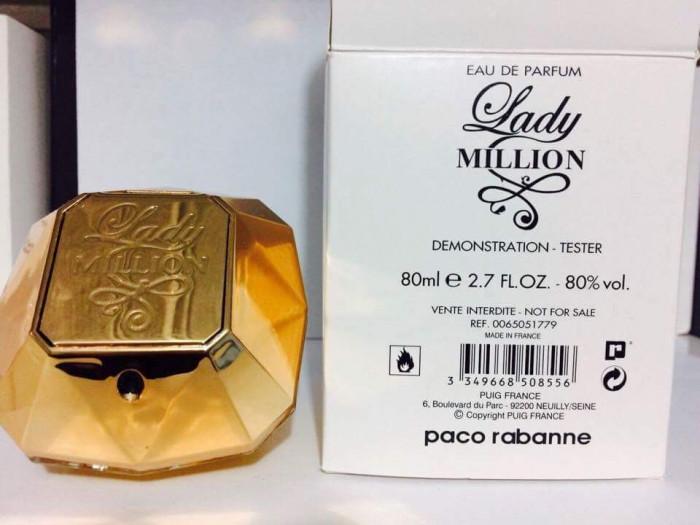 Parfum Tester  Lady  Milion -80 ML foto mare