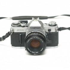 Canon AE-1 + Canon FD 50mm f1,8 ---- Cititi descrierea!