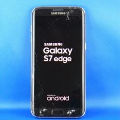 Vand telefoane Samsung S7 Edge 32GB 4G LTE octa core 64bit BT 4GB Ram GOLD negru - Telefon Samsung, Neblocat, Single SIM