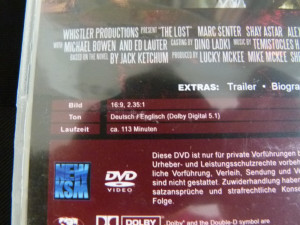 The Lost - dvd