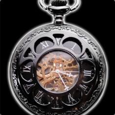 Ceas de buzunar mecanic steampunk Cathedral - Ceas de buzunar vechi