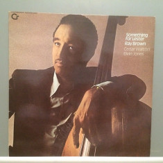 RAY BROWN/C.WALTON/ELVIN JONES - SOMETHING..(1978/ZYX/RFG) - Vinil/Impecabil(M-)