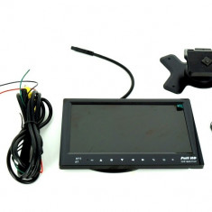 Monitor Bord cu MP5 cu Bluetooth si Modulator FM 744BT - Modulator FM auto