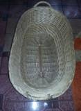 Cos nuiele vechi MARE,cufar  cu torti/patut/paner/cufar zestre vechi,110 cm,UNIC