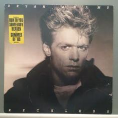 BRYAN ADAMS - RECKLESS (1984/A & M REC/RFG) - Vinil/Vinyl/Impecabil(NM) - Muzica Jazz universal records