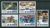 ZAIRE 1996 - JOCURI OLIMPICE - SERIE DE 5 TIMBRE - NESTAMPILATA - MNH - COTA MICHEL : 11 E / sport81