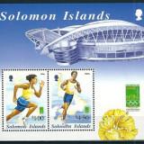 INSULELE SOLOMON 2000 - JOCURI OLIMPICE - BLOC NESTAMPILAT - MNH - COTA MICHEL : 4.5 E