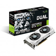 Placa video Asus GeForce GTX 1070 DUAL 8GB DDR5 256-bit DUAL-GTX1070-8G - Placa video PC