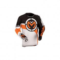 Tricou MOOSE Qualifer Moto, Enduro, ATV Stealth/Orange - S, M, XL, XXL - Imbracaminte moto