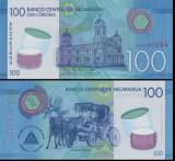 !!!  NICARAGUA  -  100  CORDOBAS  2015  -  P 213  - UNC  // POLIMER
