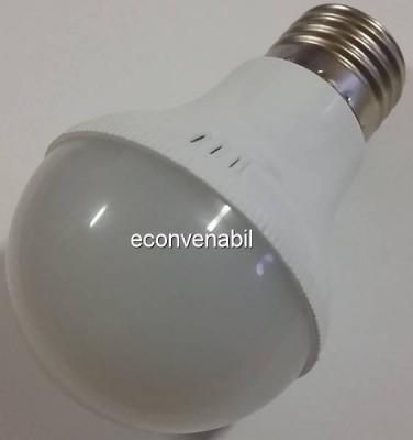 Bec cu LEDuri Economice Glob Mat E27 12W Alb Rece foto