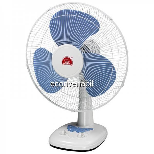 Ventilator electric de birou 3 viteze Changli Crown FT40G 40W foto mare