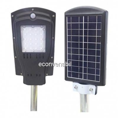 Corp de Iluminat Exterior 20LED 8W Solar cu Senzor Lumina si Miscare foto