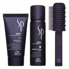Wella Professionals SP Men Gradual Tone Black set pentru restaurarea culorii naturale a parului
