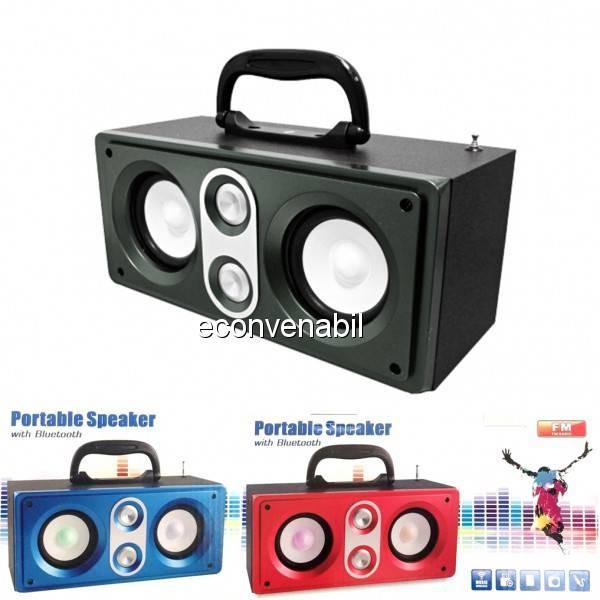 Boxa Portabila cu Bluetooth, Radio FM USB, TF Card si AUX KTS817 foto mare
