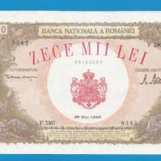 10000 lei 1946 28 mai 1 - Bancnota romaneasca